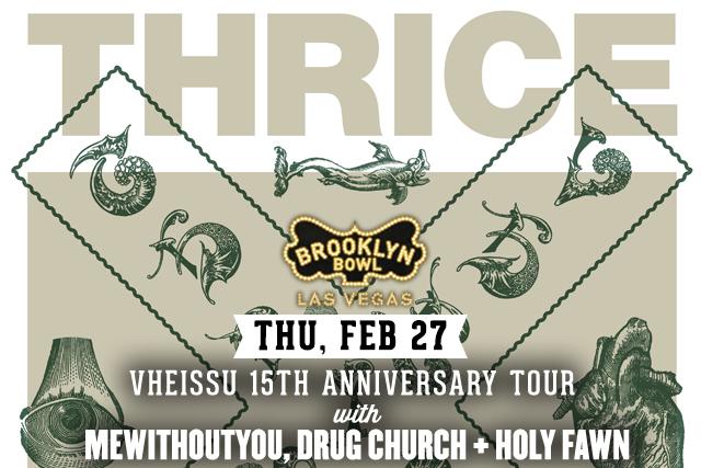 Thrice: Vheissu 15th Anniversary Tour