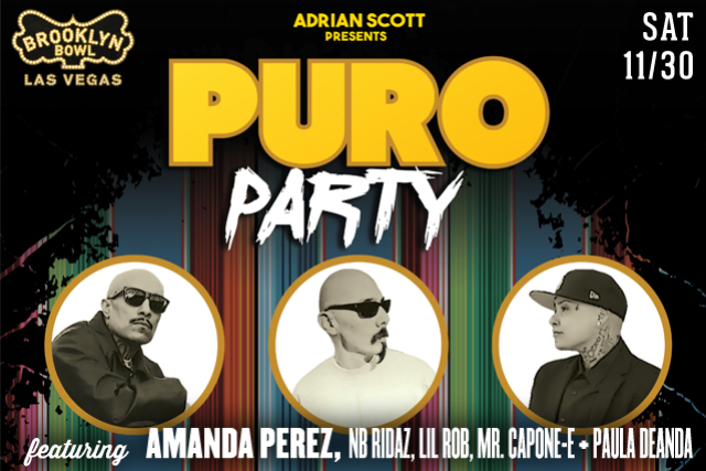 More Info for Puro Party ft. Amanda Perez