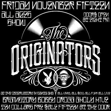 Bobby Oroza with Brainstory, Holy Hive, Funk Freaks