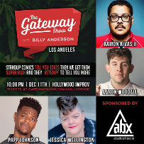The Gateway Show w/ Billy Anderson ft. Aaron Woodall, Papp Johnson, Jessica Wellington, Ramon Rivas II, and more!