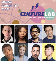 Culture Lab featuring Scott Thompson, Brooks Wheelan, Janelle James, Emma Willman, Asif Ali and more