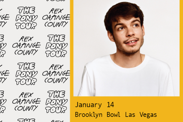 More Info for Rex Orange County - The Pony Tour