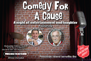 Salvation Army Comedy for a Cause
