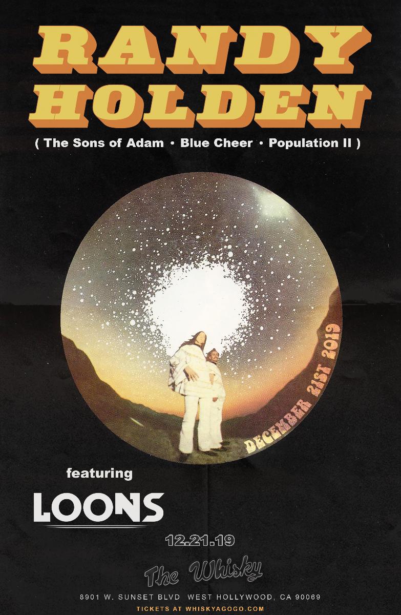 Randy Holden (of Blue Cheer, Sons of Adam & Population II), The Loons, Captor of Sin, Nadia Vaeh, Bad Profile