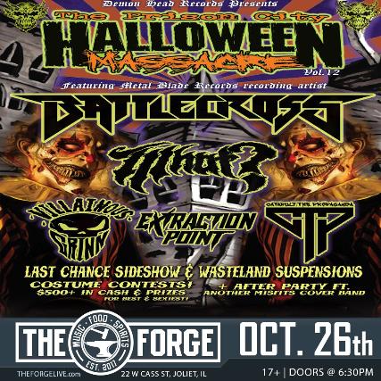 Prison City Halloween Massacre 12/Battlecross & Whut