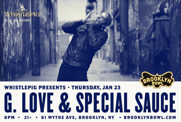 More Info for G. Love & Special Sauce