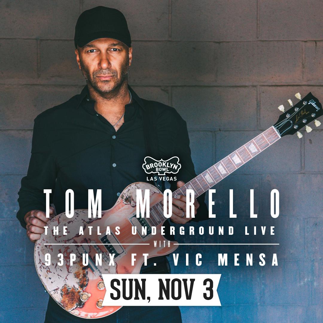 Tom Morello – The Atlas Underground Live
