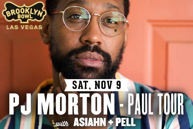 PJ Morton – PAUL Tour