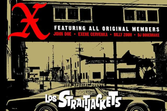 X: XMAS with Special Guest Los Straitjackets