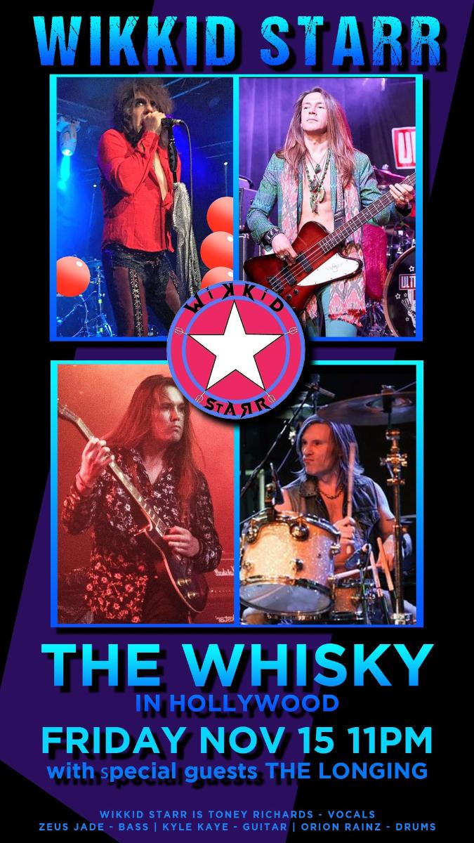 Wikkid Starr, The Sevs, Jade Duncan, Warm Honey, Jadestone, The Longing, Dorian Steel