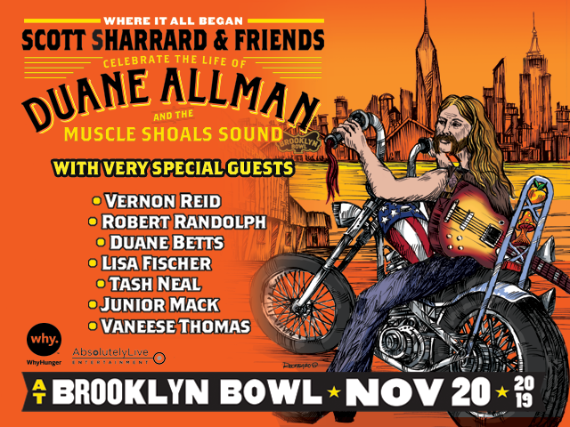 "More Info for ""Where It All Began:"" Scott Sharrard & Friends Celebrate The Life of Duane Allman & the Muscle Shoals Sound"
