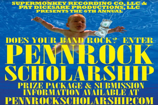 The 6th Annual 2019 PennRock Scholarship Presented by SuperMonkey Recording Co., LLC & Pat DiCesare Productions, LLC.