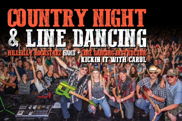 Country Night & Line Dancing at Impact Fuel Room
