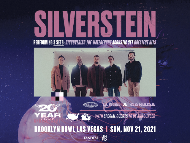 Silverstein: 20 Year Anniversary Tour