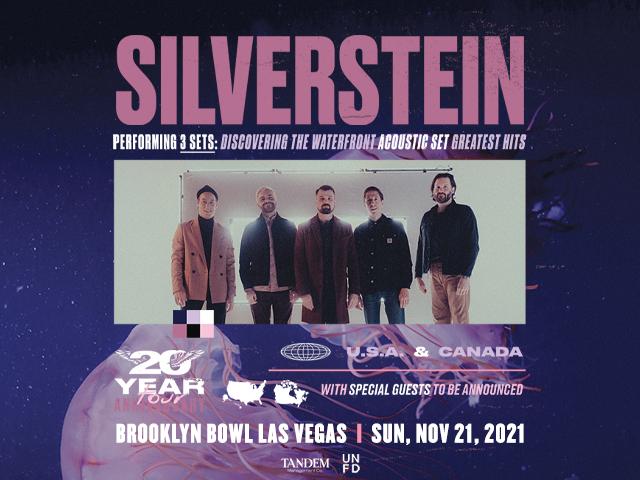 Live Nation Presents: Silverstein 20 Year Anniversary Tour