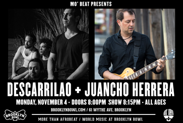More Info for Descarrilao + Juancho Herrera