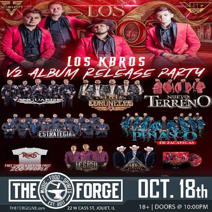 V.2 Album Release Party & More!