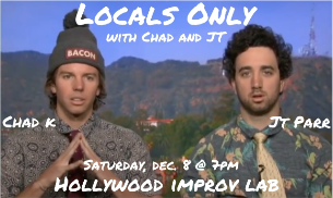 Locals Only w/ Chad K. & J.T. Parr ft. Mike Menendez, Brendan Cooney, Strider Wilson, Rachel Mac, and more!
