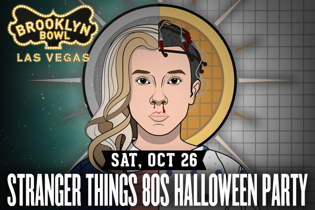 Stranger Things 80s Halloween Party