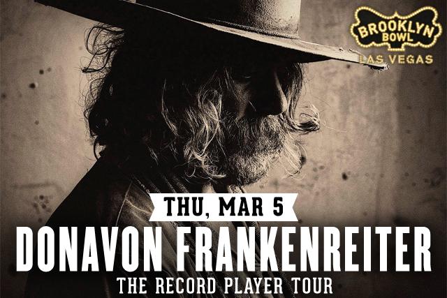 Donavon Frankenreiter The Record Player Tour
