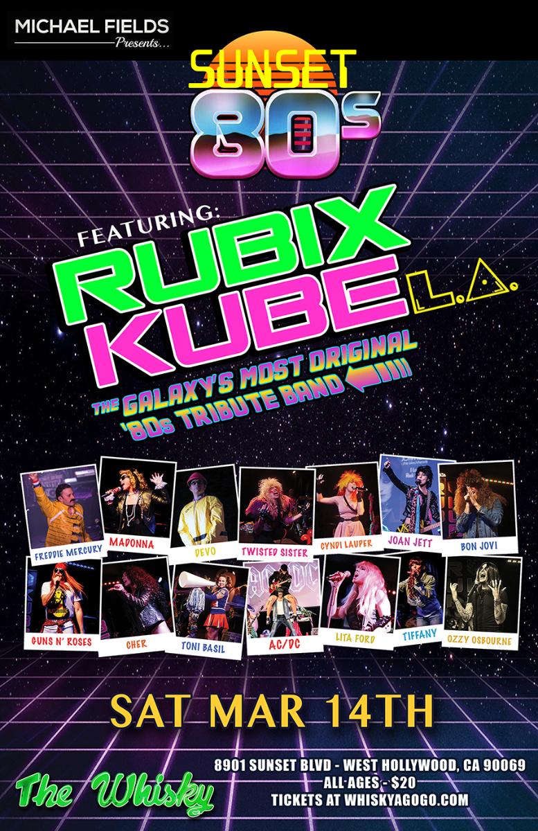 Rubix Kube LA, It's My Life