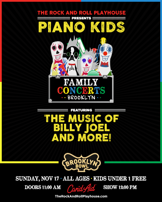 The Rock and Roll Playhouse presents Piano Kids ft. the Music of Billy Joel and More!