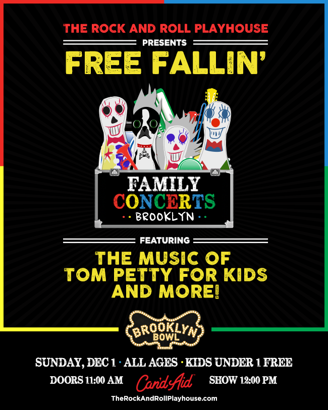 The Rock and Roll Playhouse presents Free Fallin' ft. the Music of Tom Petty for Kids and More!