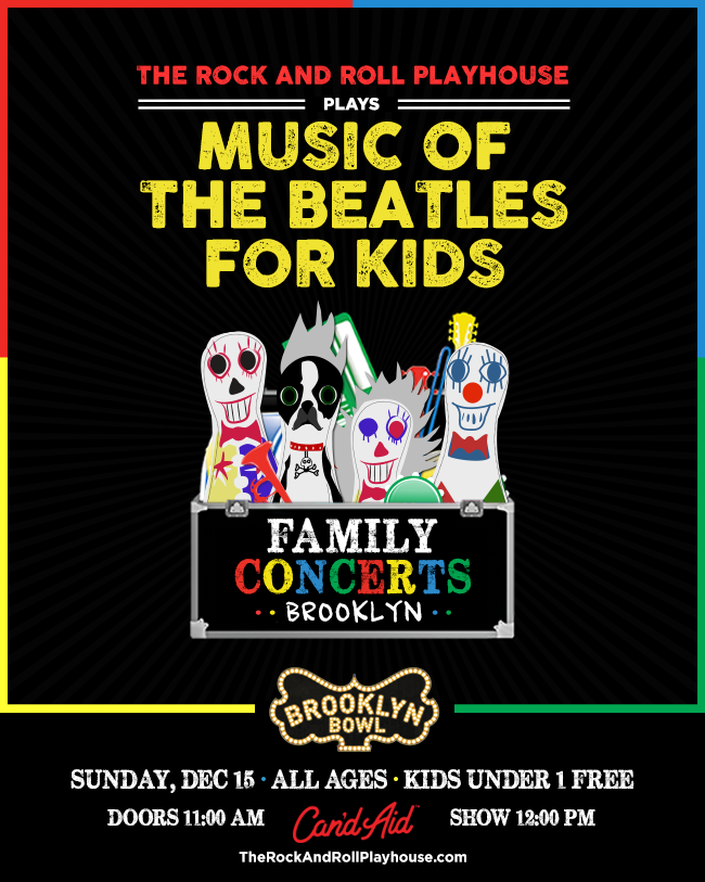 The Rock and Roll Playhouse plays Music of the Beatles for Kids