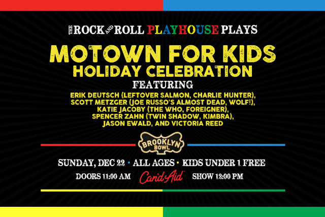 More Info for The Rock and Roll Playhouse plays Motown for Kids Holiday Celebration ft. Music of Diana, Stevie, Gladys, the Temptations and More!