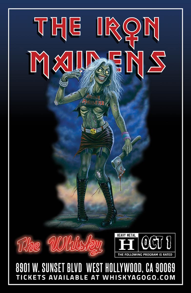 THE IRON MAIDENS - The World's Only All Female Tribute to Iron Maiden, Black Sabbatha (Tribute to Black Sabbath), Six Gun Quota, Tornadic, Octtobraa, Double Sus