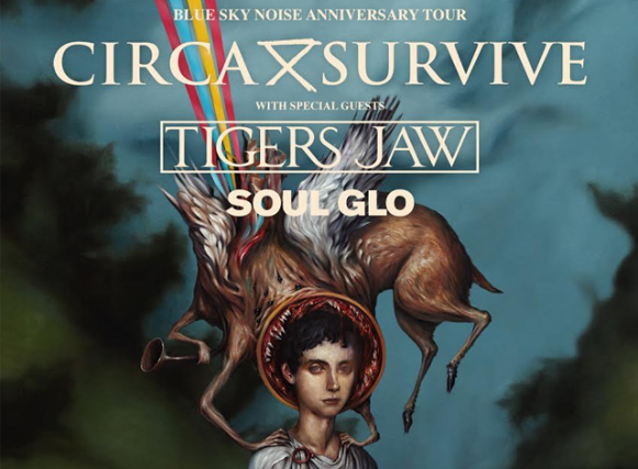 Circa Survive : Blue Sky Noise 10 Year Anniversary Tour with Polyphia and Gouge Away