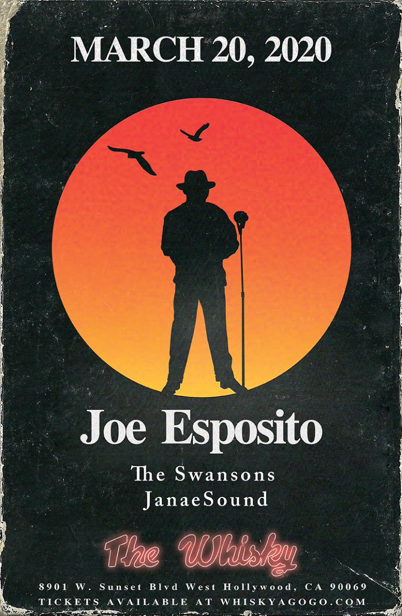 Joe Esposito, The Swansons, JanaeSound