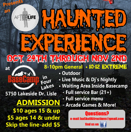 Haunted Maze Oct 24th - Nov 2nd
