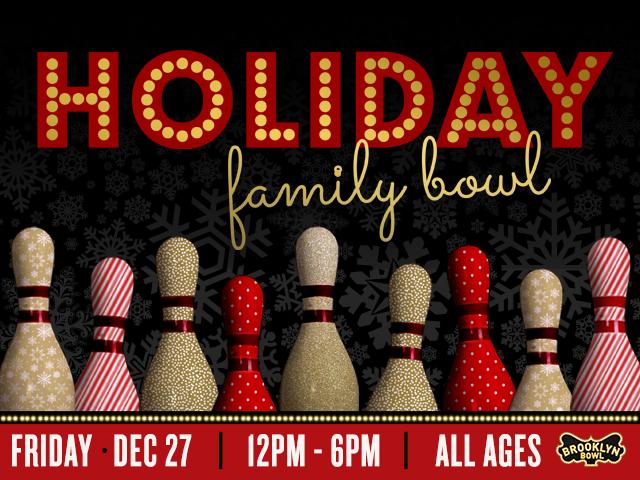 Holiday Family Bowl