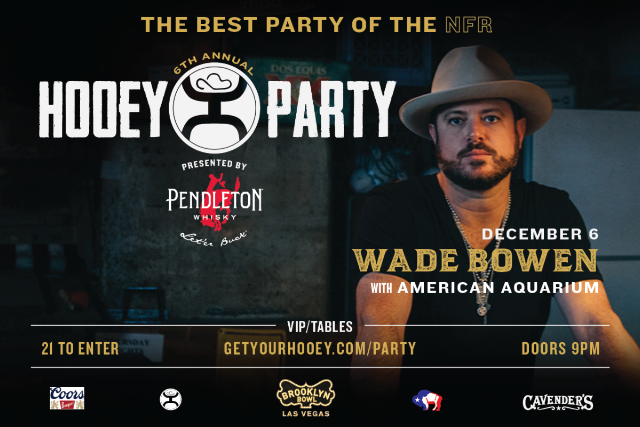 More Info for The Official Hooey Party ft. Wade Bowen with American Aquarium