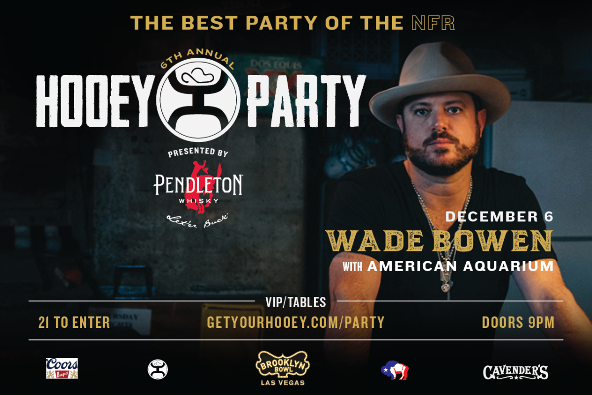 The Official Hooey Party ft. Wade Bowen with American Aquarium
