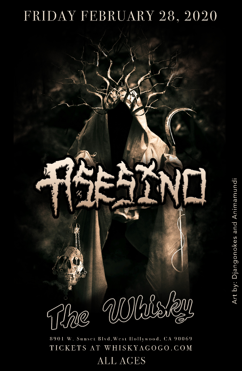 Asesino, Letum Ascensus, Octtobraa, Blood Vomit Ritual, The End All, Infinite Sleep, Transtorno