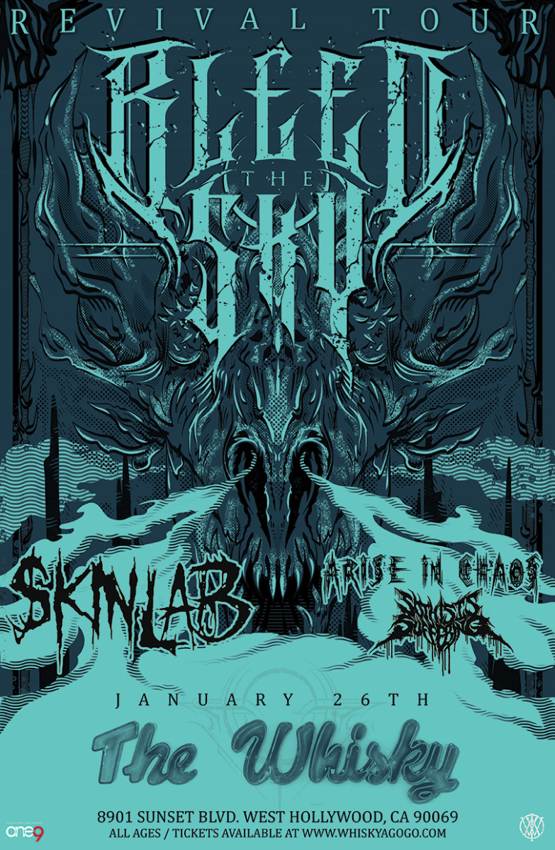 Bleed The Sky, Skinlab, Arise In Chaos, So This Is Suffering, Luna 13