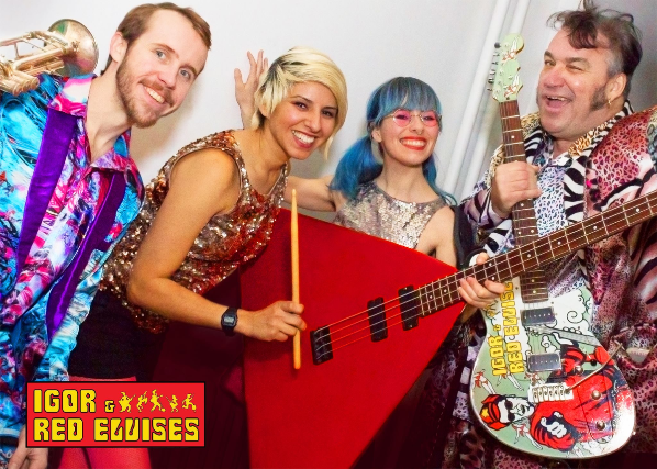 The Red Elvises at Molly Malones