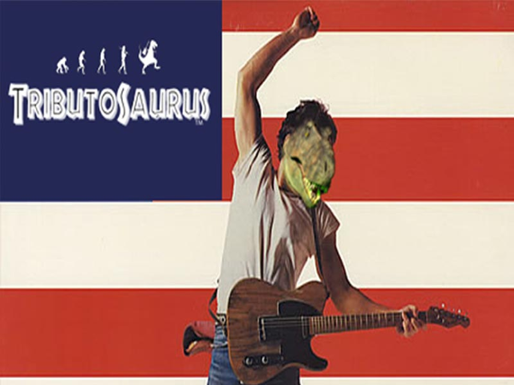 Tributosaurus becomes: Bruce Springsteen!