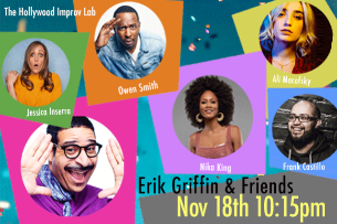 Erik Griffin & Friends! ft. Owen Smith, Nika King, Ali Macofsky, Jessica Inserra, Frank Castillo, and more!