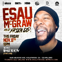 Esau McGraw & Friends! ft. Joe Fox, Stevie Brown, Christine King, Kai Hamilton, and more!