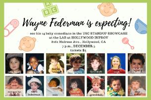 USC Stand-Up Showcase with Wayne Federman