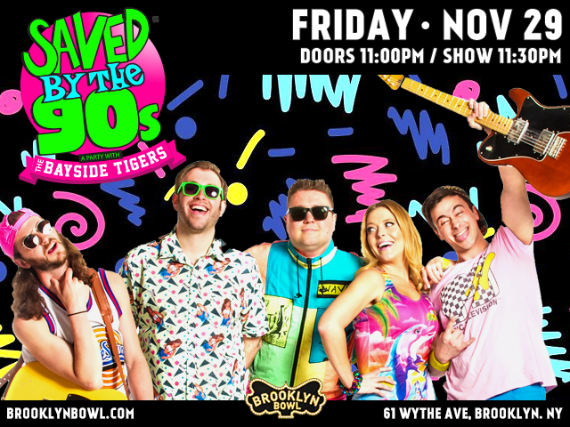More Info for Saved By The 90s with The Bayside Tigers!