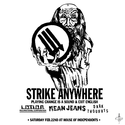 Strike Anywhere: Performing Change Is A Sound + Exit English