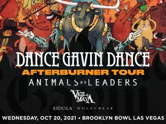 More Info for Dance Gavin Dance - Afterburner Tour