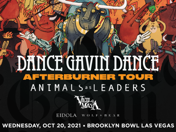 More Info for Dance Gavin Dance - Afterburner Tour