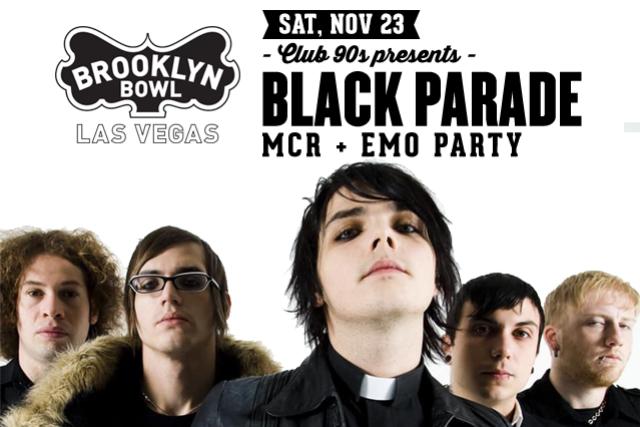 More Info for Black Parade - MCR & Emo Party