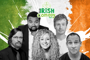 EVENT CANCELLED : The Real Irish Comedy Fest
