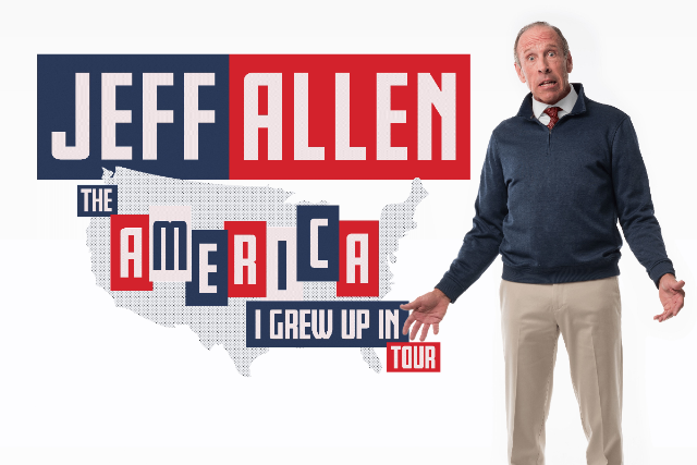 Jeff Allen: the America I Grew Up In Tour at Raleigh Improv